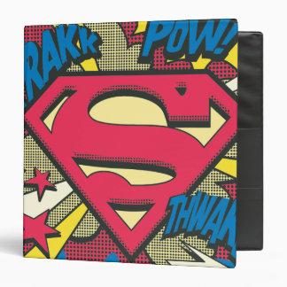Superman 66 vinyl binders