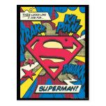 Superman 66 postcard