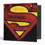 Superman 67 3 ring binder