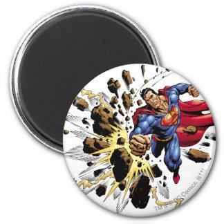 Superman 68 2 inch round magnet