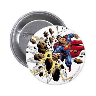 Superman 68 pinback button