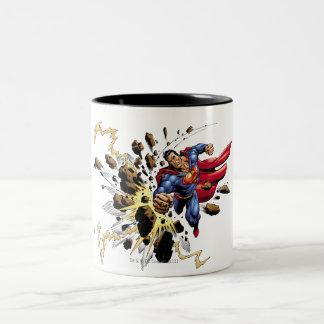 Superman 68 Two-Tone coffee mug