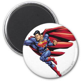 Superman 73 2 inch round magnet