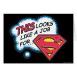 Superman 74 greeting card