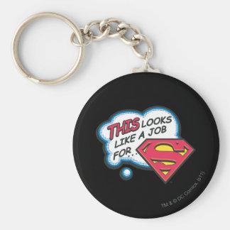 Superman 74 keychain