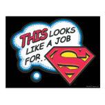 Superman 74 post card
