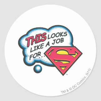 Superman 74 stickers