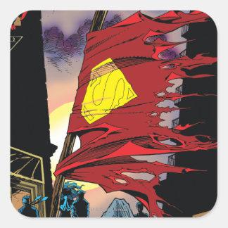 Superman #75 1993 square sticker