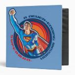 Superman A Never-ending Mission 3 Ring Binder