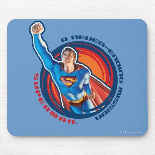 Superman A Never-ending Mission Mouse Pad