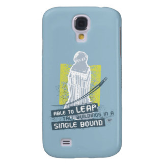 Superman Able to Leap Tall Buildings Samsung Galaxy S4 Covers
