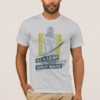 Superman Able to Leap Tall Buildings T-Shirt