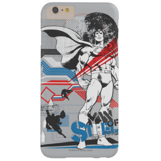 Superman - Absurd Collage Poster Barely There iPhone 6 Plus Case