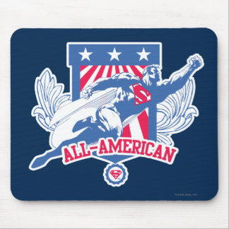 Superman All-American Mouse Pad