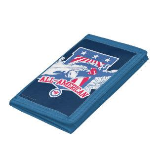 Superman All-American Tri-fold Wallet