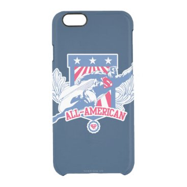 Superman All-American Clear iPhone 6/6S Case