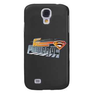 Superman All Powerful Galaxy S4 Cases