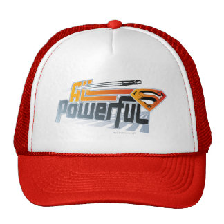 Superman All Powerful Trucker Hat