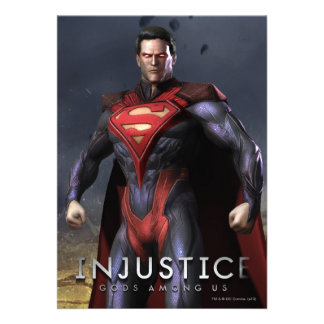 Superman Alternate Custom Invitation