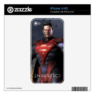 Superman Alternate Decals For iPhone 4
