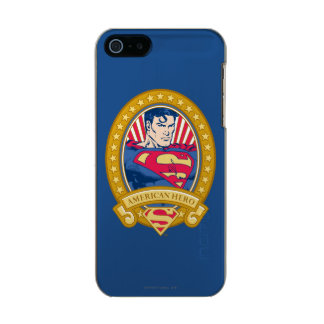 Superman American Hero Metallic Phone Case For iPhone SE/5/5s