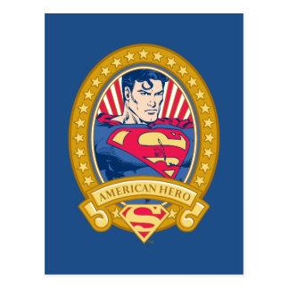 Superman American Hero Postcard