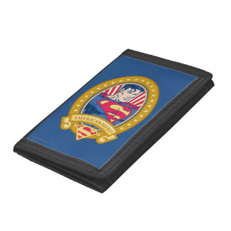 Superman American Hero Tri-fold Wallets