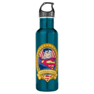 Superman American Hero Water Bottle