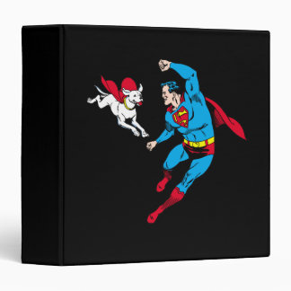 Superman and Krypto 2 Binder