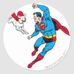 Superman and Krypto 2 Stickers