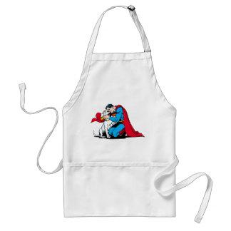 Superman and Krypto Adult Apron