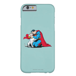 Superman and Krypto Barely There iPhone 6 Case