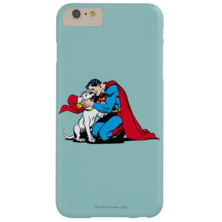 Superman and Krypto Barely There iPhone 6 Plus Case