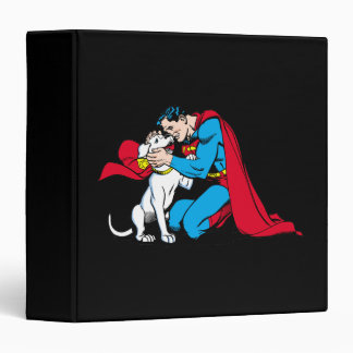 Superman and Krypto Binder