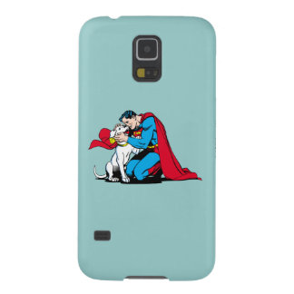 Superman and Krypto Galaxy S5 Cases