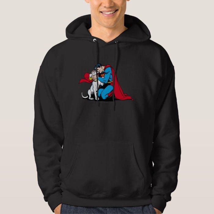 Superman and Krypto Hoodie