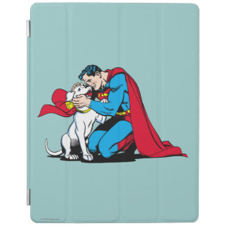 Superman and Krypto iPad Cover