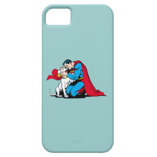 Superman and Krypto iPhone SE/5/5s Case