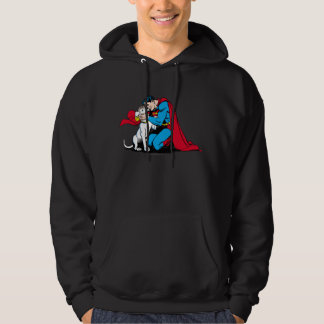 Superman and Krypto Pullover