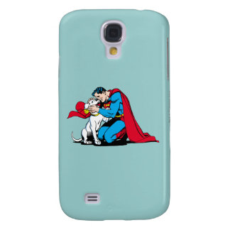 Superman and Krypto Samsung S4 Case