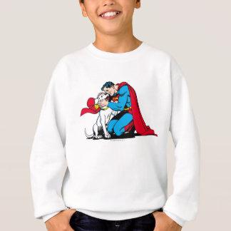 Superman and Krypto Sweatshirt