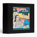 Superman and Lois Comic 3 Ring Binder