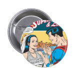 Superman and Lois Comic Button