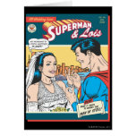Superman and Lois Comic Greeting Cards