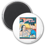Superman and Lois Comic Refrigerator Magnets