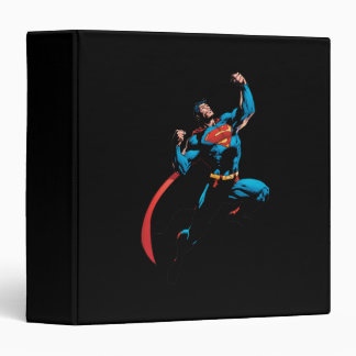 Superman Arms Raised Binder