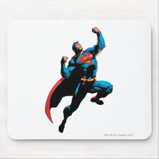 Superman Arms Raised Mouse Pad