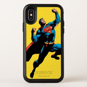 Superman Arms Raised OtterBox Symmetry iPhone X Case