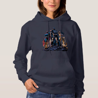 Superman, Batman, & Wonder Woman Trinity Hoodie