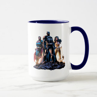 Superman, Batman, & Wonder Woman Trinity Mug